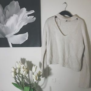 White H&M Sweater